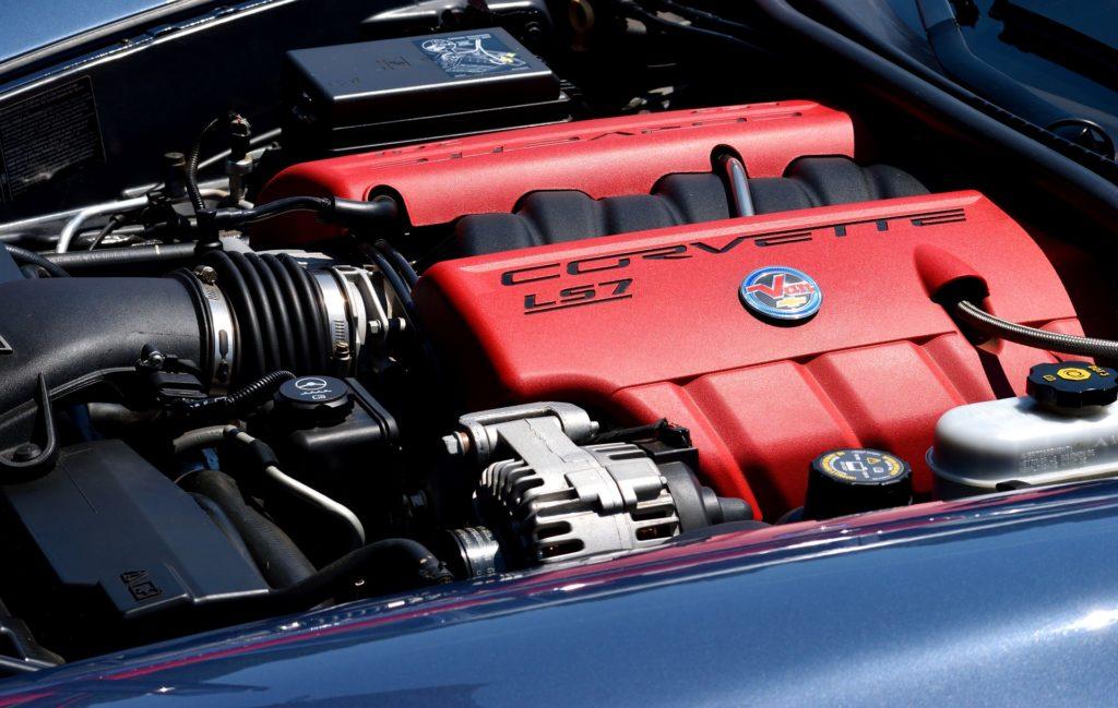 コルベットV8エンジン